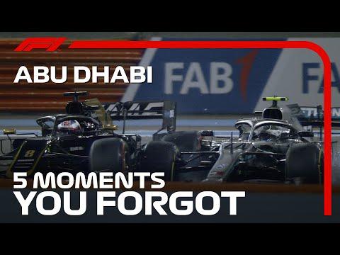 F1 第17戦アブダビGP 過去に行われたアブダビGPの忘れられない名場面を集めたハイライト動画