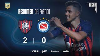 Copa Liga Profesional   Fecha 4   resumen de San Lorenzo - Argentinos