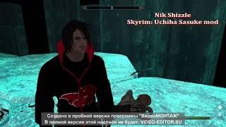 Skyrim: Uchiha Sasuke mod