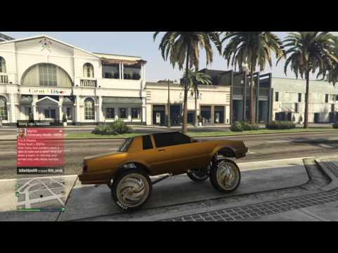 Gta 5 ps4 online gold regal cleanist online chevy/regal club all gold cars follow me ign crew