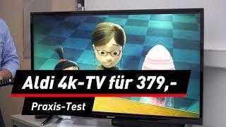 Medion Life X14093: 4K-TV mit 49-Zoll bei Aldi im Test
