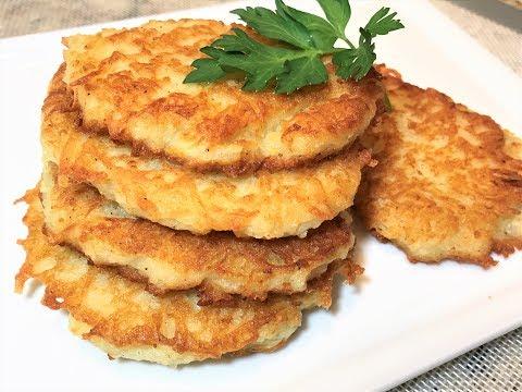 ДРАНИКИ из картофеля.. Секрет Вкусных Драников.  Картофельные Оладьи.  Potato fritters