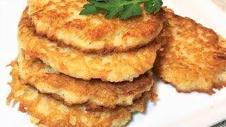 ДРАНИКИ. Секрет Вкусных Драников.  Картофельные Оладьи.  Potato fritters