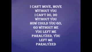 Sonny Rey - Paralyzed (Lyrics)