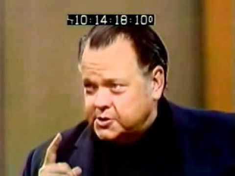 The time Orson Welles became a Psychic for a day & quit because he got too good.