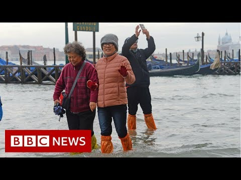Venice hit by severe flooding - BBC News