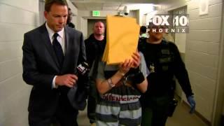 Jodi Arias leaving court after sentencing verdict