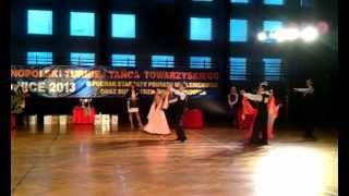 preview picture of video 'Walc wiedeński, pow.15, klasa E, Turniej Tańca, Sułkowice 03.02.2013'