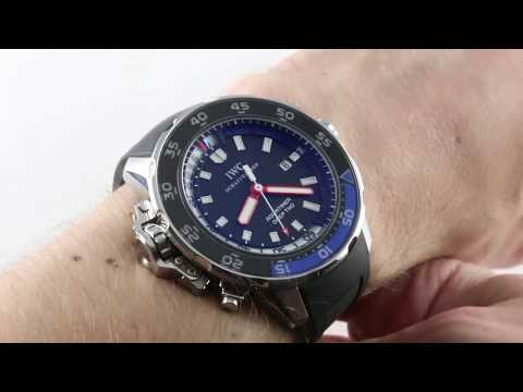 IWC Aquatimer Deep Two DEPTH GAUGE IW3547-02 Luxury Watch Review