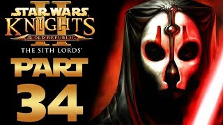 """Star Wars: KotOR 2 (Modded) - Let's Play - Part 34 - """"Jedi Temple, Council Chambers"""" 