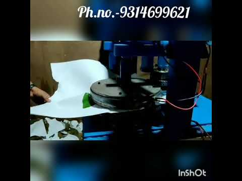 Hydraulic Four Die Paper Plate Making Machine