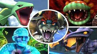 Super Smash Bros Brawl - All Bosses with Giga Bowser