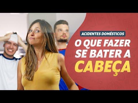 Imagem ilustrativa do vídeo: O que fazer quando BATER A CABEÇA I Acidentes Domésticos #04