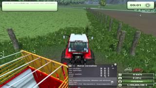 preview picture of video 'LS 2013 - CoursePlay Tutorial - Gras sammeln und abfahren'