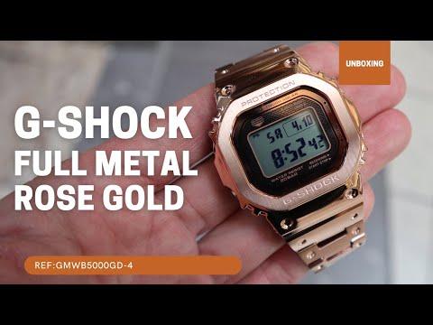 Casio G-Shock Full Metal Rose Gold GMWB5000GD-4