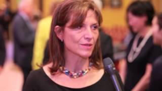 Giorgio Perlasca tiszteletére rendezett koncerten nyilatkozott Lévai Anikó riporter Breuer Péter