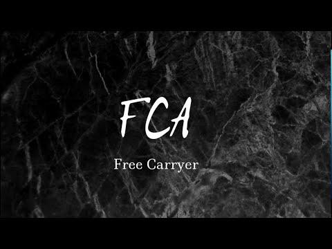 FCA - Инкотермс 2010 - торговый термин