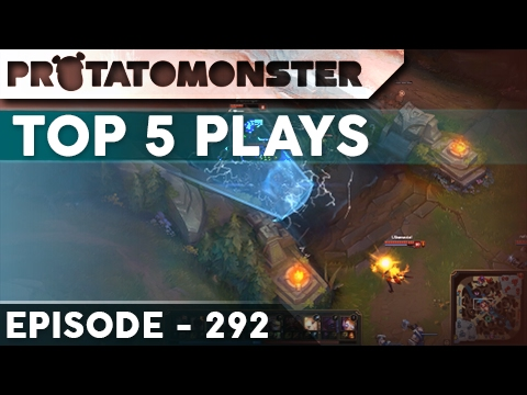 League of Legends Top 5 Plays Week 292 | Ft. Insane Skillshot Dodging and Leblanc Outplays
