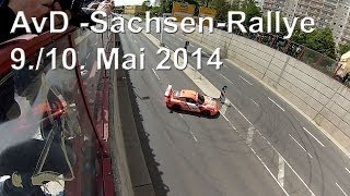 preview picture of video 'AvD Sachsen-Rallye 2014 in Zwickau, 10. Mai 14, Teil 1'