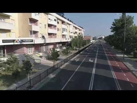 Podgoričke ulice Ilije Plamenca i 27. marta dobile biciklističke staze i drvored - U rekonstrukciju uloženo više od 400.000 EUR