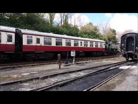 A visit to the Bodmin & Wenford Railway 26th April 2016