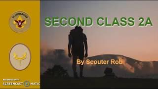 BSA SECOND CLASS RANK REQUIREMENT 2A