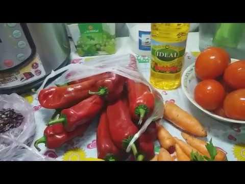 Готовлю на пост горячий салат от Ирины вкусные витамины,.фасоль от Иринки.