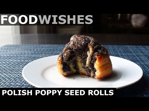 Polish Poppy Seed Rolls – Food Wishes