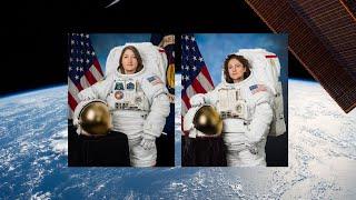 NASA Astronauts Complete All-Woman Spacewalk