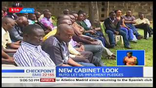 New Cabinet Look: DP, William Ruto now wants leaders to shun political sides shows and focus on work