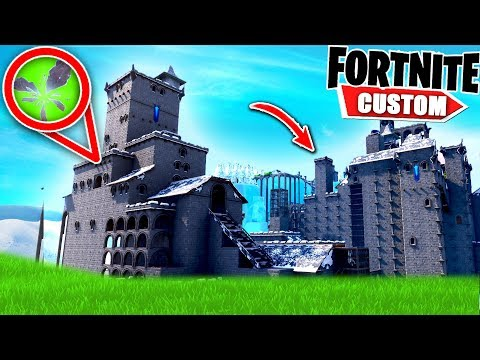 Fortnite PRISON BREAK Deathrun.. Can you ESCAPE the CASTLE Prison?! (Fortnite Creative Mode) (видео)