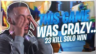 THIS GAME WAS ACTUALLY CRAZY... (23 KILL SOLO)
