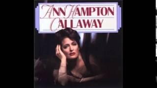 Ann Hampton Callaway / Lush Life