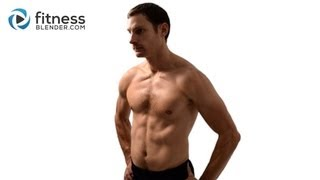 Total Body HIIT Boot Camp Workout - Quick Tabata Workout