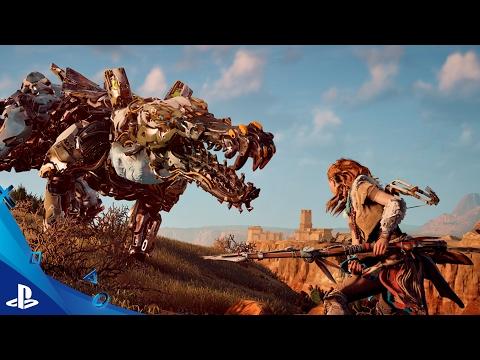 Cuatro nuevos vídeos sobre las máquinas de Horizon Zero Dawn