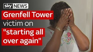 """Grenfell Tower victim on """"starting all over again"""""""