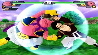 Mr. Satan  - (Dragon Ball) - Majin Buu and Mr Satan Fusion | Buutan vs Kid Buu | DBZ Tenkaichi 3 (MOD)
