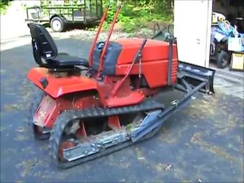 Mini bulldozer build