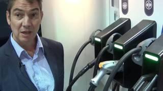 Présentation de la borne de recharge 150 kW de DBT