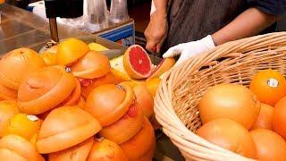 Grapefruit ade juice - Korean street food