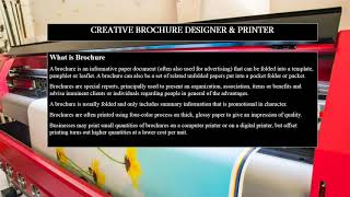 Creative Brochure Designer & Printer Singapore