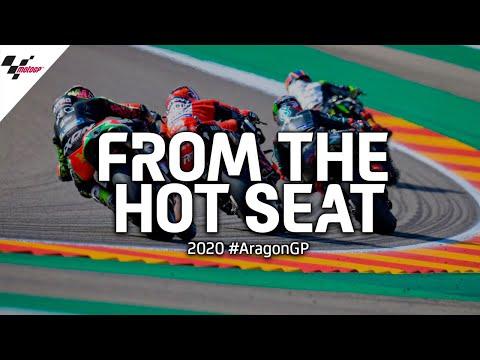 一味違う迫力が味わえるシートカメラの映像を使った MotoGP アラゴンGP 決勝レースのダイジェスト動画