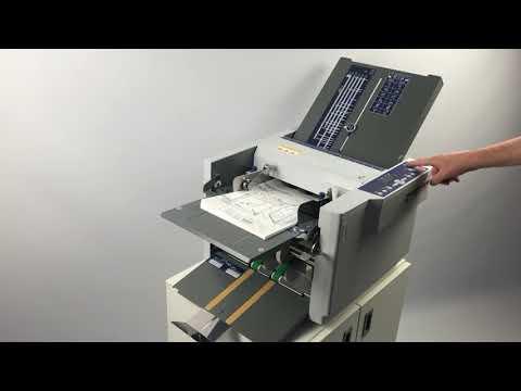 Plieuse de bureau TF MEGA-M plus: Du format A6 à A3 – 7 types de plis y compris pli croisé