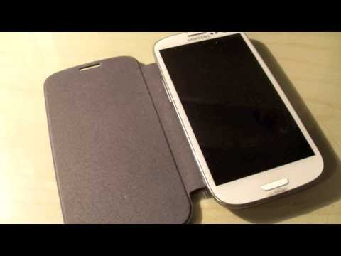 Samsung galaxy S3 flip cover review