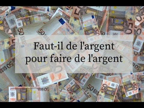 FAUT-IL DE L'ARGENT POUR FAIRE DE L'ARGENT ? | T.BEN | RICHESSE ET STYLE DE VIE sur Coach Fitness
