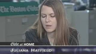 Juliana Hatfield interview - The Globe at Home  05-19-2004