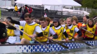 Le dragon boat vogue sur la France