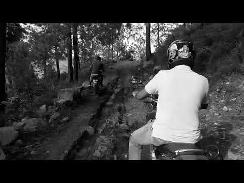 Adventure Mountain Biking Race At Margalla Hills Islamabad - Yamaha vs Honda