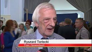 Ryszard Terlecki: Może prof. Gersdorf przyzwyczaiła się do miejsca pracy i dlatego przychodzi.