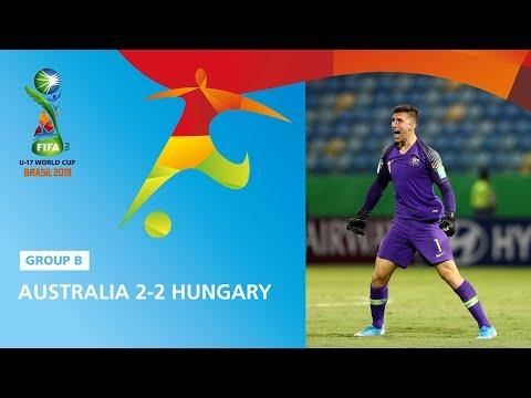 Australia v Hungary Highlights - FIFA U17 World Cup 2019 ™